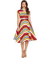 Unique Vintage - Striped Shirtdress