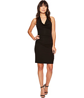Nicole Miller - Samara Cowl Neck Halter Dress
