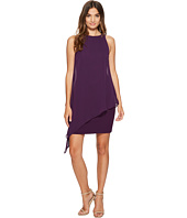 Tahari by ASL - Chiffon Overlay Sheath Dress