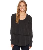 Mod-o-doc - Cotton Modal Fleece Rounded Hem Long Sleeve Pullover