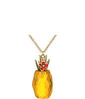 Betsey Johnson - Pineapple Pendant Long Necklace