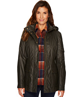 Pendleton - Waxed Cotton Hooded Zip Front Jacket