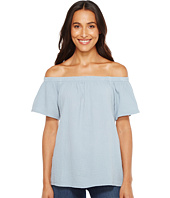 Dylan by True Grit - Raglan Off Shoulder Top