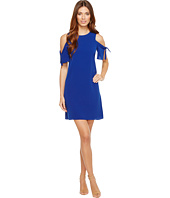 CeCe - Tie Sleeve Cold Shoulder Shift Dress