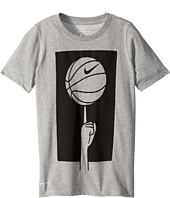 Nike Kids - Dry Spinning Ball Basketball T-Shirt (Little Kids/Big Kids)