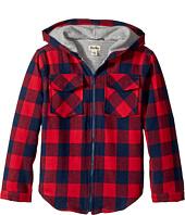 Hatley Kids - Plaid Lumber Flannel Jacket (Toddler/Little Kids/Big Kids)