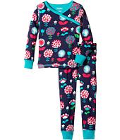 Hatley Kids - Harvest Floral Wrap Over PJ Set (Toddler/Little Kids/Big Kids)