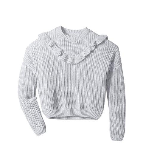 Blank NYC Kids Ruffle Sweater in Mind Mischief (Big Kids)