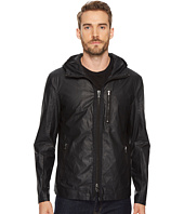 John Varvatos Star U.S.A. - Short Parka with Exposed Zippers