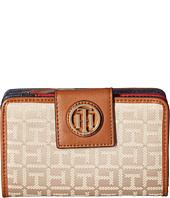 Tommy Hilfiger - TH Serif Signature - Medium Snap Flap Wallet