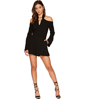 KEEPSAKE THE LABEL - Darkest Light Long Sleeve Playsuit