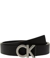 Calvin Klein - 30mm Flat Strap w/ Seams & Lacing