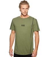 nANA jUDY - Domain T-Shirt with Lines and Logo Print