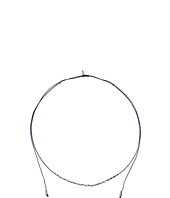 Chan Luu - Sterling Silver Adjustable Choker On Nylon Cord