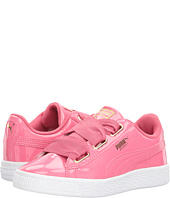 Puma Kids - Basket Heart Patent Gold (Little Kid/Big Kid)