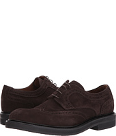 eleventy - Suede Wingtip Lace-Up