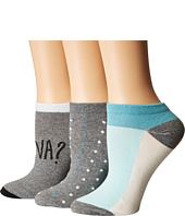 Kate Spade New York - 3-Pack Frenchie No Show Socks
