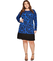 MICHAEL Michael Kors - Plus Size Garden Dress w/ Pleat Hem
