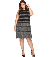 MICHAEL Michael Kors - Plus Size Cheetah Paneled Sleeveless Dress