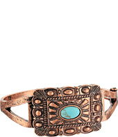 M&F Western - Rectangle Copper Snap Bracelet