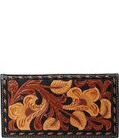 M&F Western - 3-Tone Laced Edge Rodeo Wallet