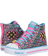SKECHERS KIDS - Twinkle Toes – Shuffles 10830L Lights (Little Kid/Big Kid)