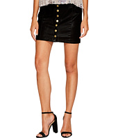 Bishop + Young - Button Up Mini Skirt