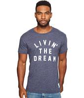 The Original Retro Brand - Living The Dream Short Sleeve Tri-Blend T-Shirt