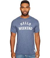 The Original Retro Brand - Hello Weekend Short Sleeve Heather T-Shirt
