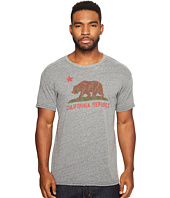 The Original Retro Brand - Vintage California Republic Short Sleeve Tri-Blend T-Shirt