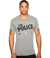 The Original Retro Brand - The Police Short Sleeve Tri-Blend T-Shirt