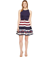 Ted Baker - Annalie Rowing Stripe A-Line Skater Dress