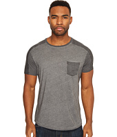 Scotch & Soda - Oil Washed Crew Neck Tee with Chest Pocket
