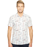Perry Ellis - Short Sleeve Linear Shirt