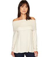 B Collection by Bobeau - Capri Cozy Off Shoulder Top
