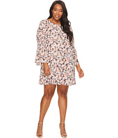 B Collection by Bobeau Curvy - Plus Size Jude Flare Sleeve Dress
