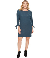 B Collection by Bobeau Curvy - Plus Size Lanna Tie Sleeve Knit Dress