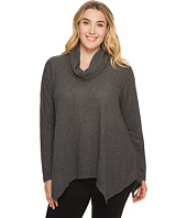 B Collection by Bobeau Curvy - Plus Size Analia Waffle Knit Top