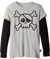 Nununu - Skull T-Shirt (Little Kids/Big Kids)