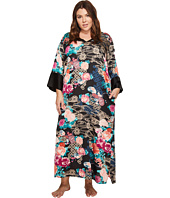 N by Natori - Plus Size Dreamy Floral Caftan