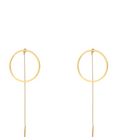Steve Madden - Long Ring w/ Chain Post Earrings