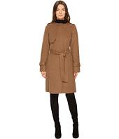 Diane von Furstenberg - Liane Double Face Wool Tie Waist Coat