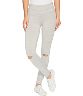 Alternative - Cotton Modal Spandex Jersey Slashed Leggings