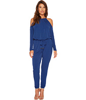 MICHAEL Michael Kors - Mini Leaf Cold Shoulder Jumpsuit