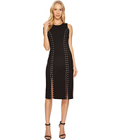 MICHAEL Michael Kors - Sleeveless Dome Stud Slit Dress