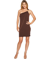 MICHAEL Michael Kors - One Shoulder Dress with Trim