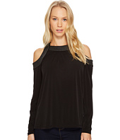 MICHAEL Michael Kors - Trapunto Cold Shoulder Top