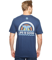 Life is Good - Whale Tail Crusher Tee