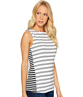 Three Dots - Santorini & Mykonos Striped Tank Top