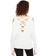 Trina Turk - Bamboo Terry Long Sleeve Cold Shoulder